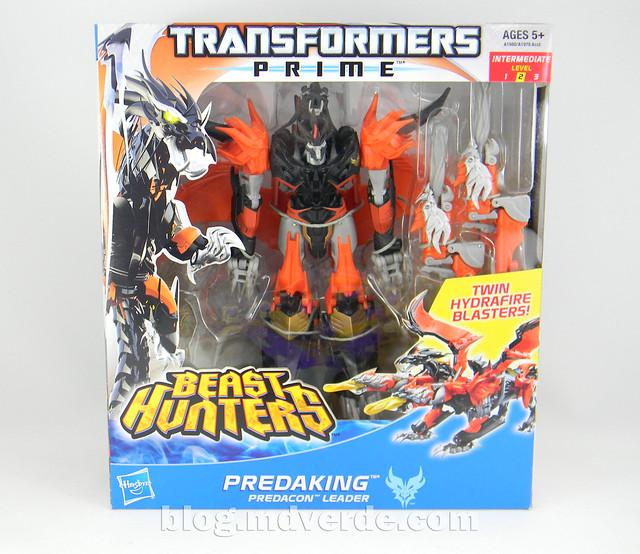Transformers Predaking Voyager - Transformers Prime Beast Hunters - caja