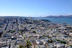 Western San Francisco from Coit Tower