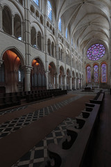 Laon Cathedral Choir Elevation and Rose Window