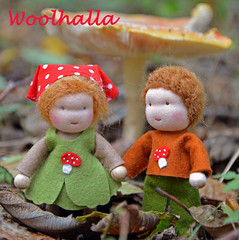 Autumn & Forest Dollhouse Dolls