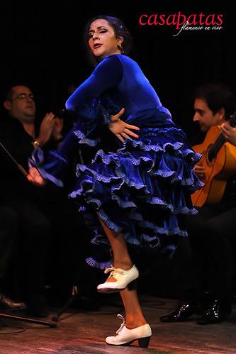 La bailaora Gema Moneo nos acompañará esta semana. Foto: Martín Guerrero