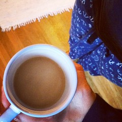 My MIL made me coffee. I wish I could bring her home in my suitcase.