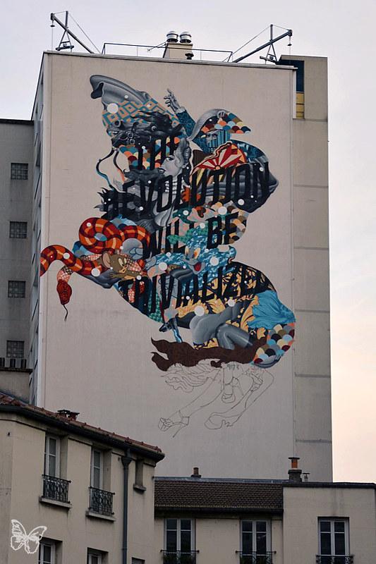 Tristan Eaton - Nuit Blanche Paris 2014