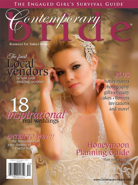 Contemporary Bride Cover NY- headpiece and jewelry- Bridal Styles Boutique