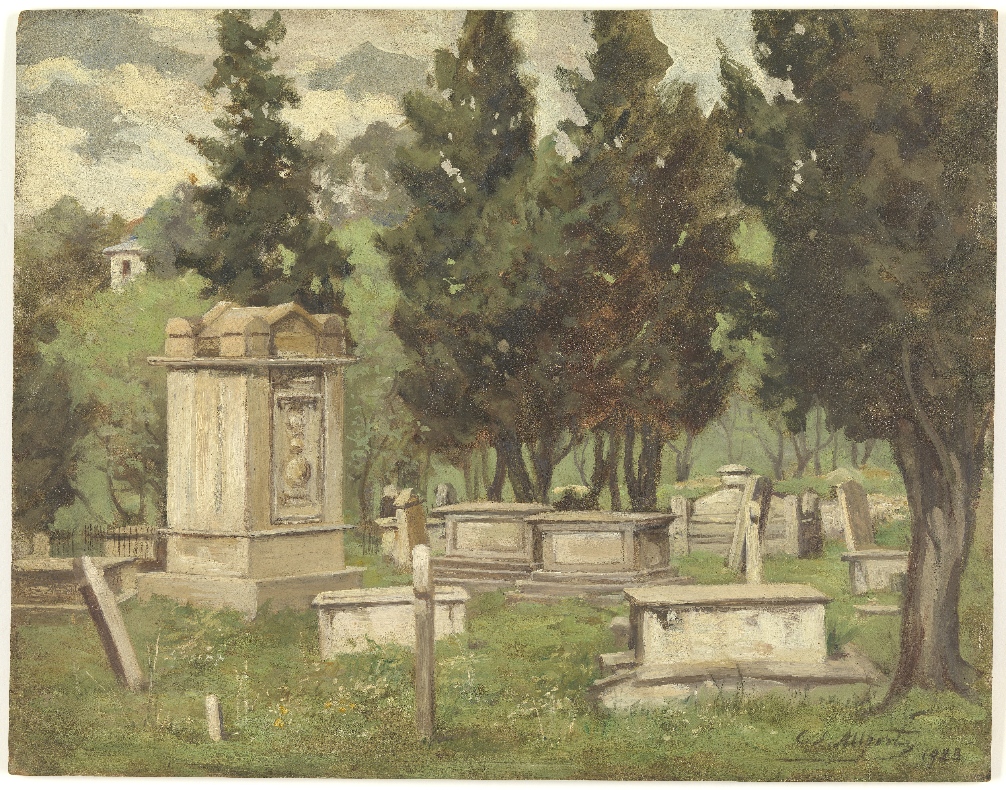 St David's Burial Ground 1923