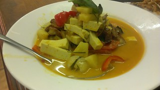 'Duck' and Lychee Curry - Green Palace
