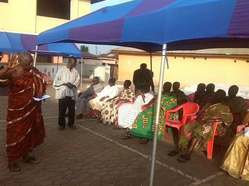 Durbar held in honour of Miss Ghana 2013 Nadia Ntanu