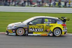BTCC Silverstone 2014-Chevrolet Cruze driven by Chris Stockton.