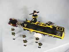 SHIPtember Blacktron Fast Attack Carrier Telum