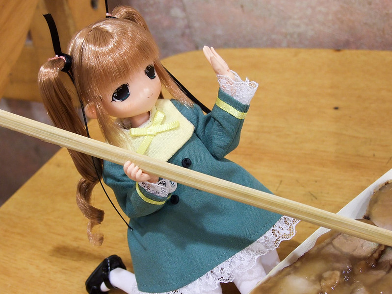 106-琪琪叫霜霜別擺pose了,快來吃飯-2