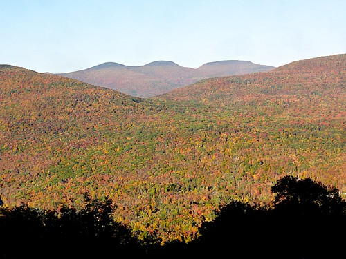 autumn mountains fall colors leaves view foliage catskills