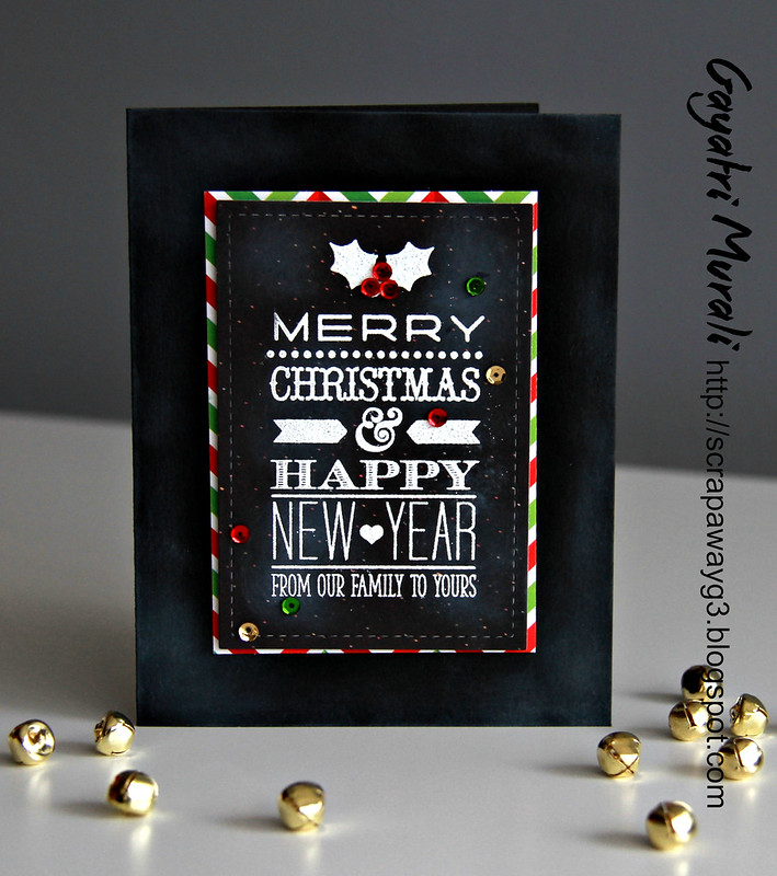 Chalkboard christmas card4