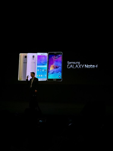 Samsung Galaxy Note 4 World Tour 2014 Singapore - Note 4 Colors