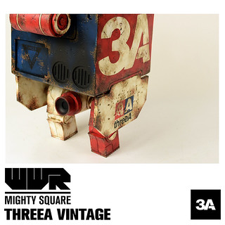 threeA – WWR【MIGHTY SQUARE】World War Robot 超級大方塊亂鬥