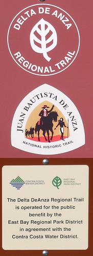 signs Delta De Anza Trail opens_0331