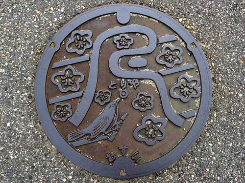 Toriya Ishikawa, manhole cover (石川県鳥屋町のマンホール)