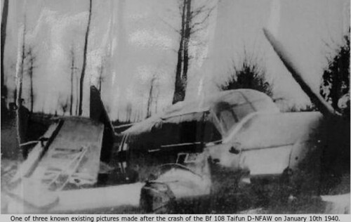 Bf 108 accidentado