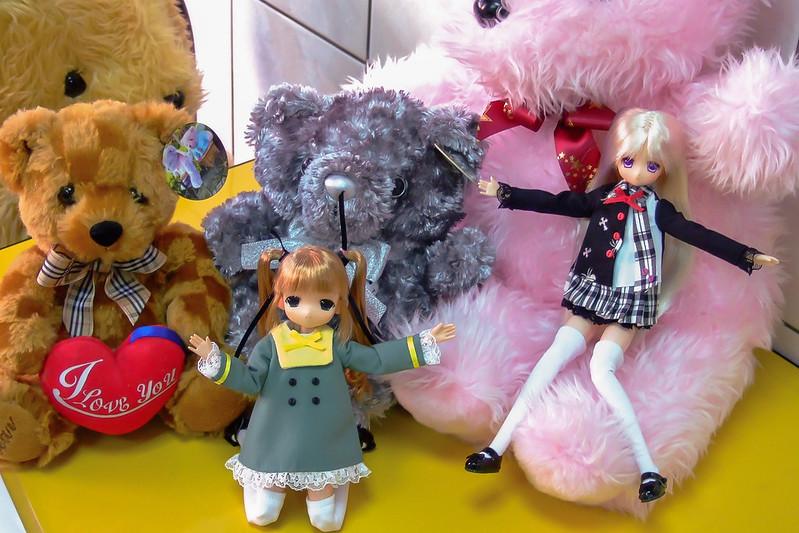 086-琪琪與霜霜與伊瑪斯餐廳的熊熊布偶-2