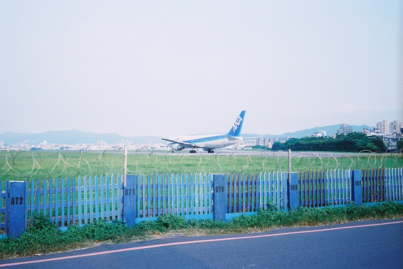 松山機場外