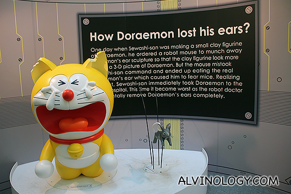 Do you know Doraemon was once yellow in colour and had ears?
