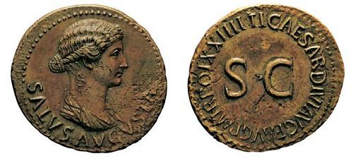 No. 77 TIBERIUS, 14-37. Dupondius