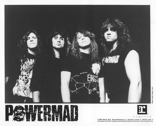 Powermad (1989 8X10 Promo Photo)