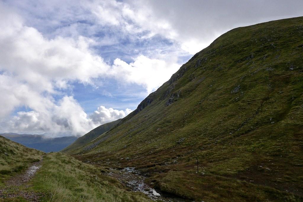 Meall Dubh from the Cam Bhealach