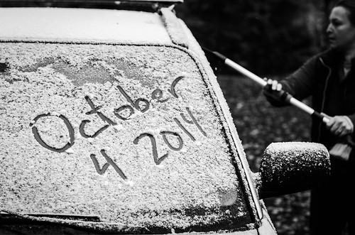2014 10 04 First Snow