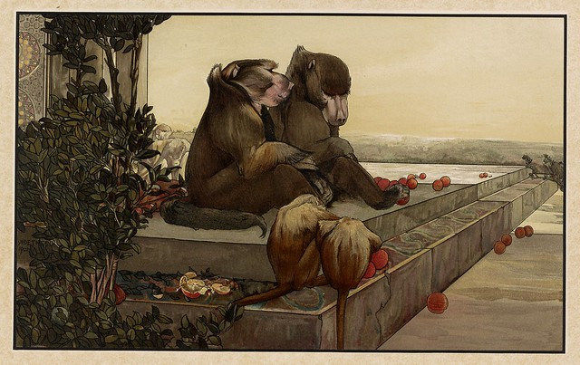 005-Las moradas frias-Sixteen illustrations of subjects from Kipling's Jungle Book-1903 -Library of Congress