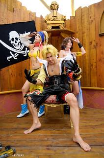 Rikku & Yuna & Tidus (Final Fantasy X-2