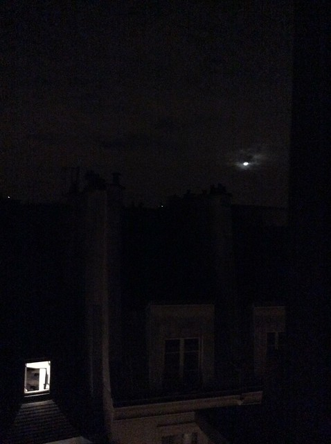 Moon over Paris