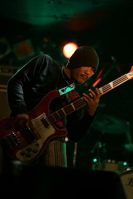 SPUTNIK KOMBINAT live at ShowBoat, Tokyo, 05 Oct 2014. 085