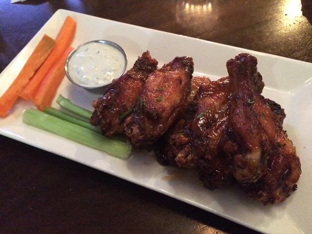 Chicken wings - Circa at Foggy Bottom