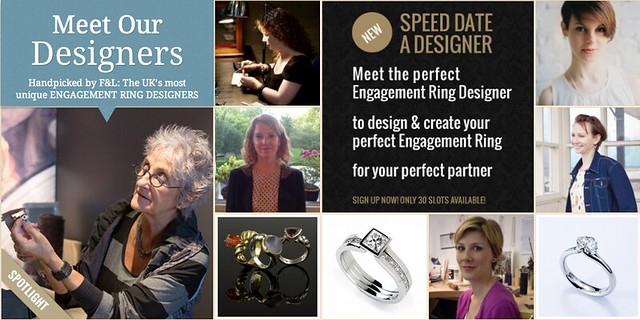 Speed Date an Engagement Ring Designer with F&L Designer Guide