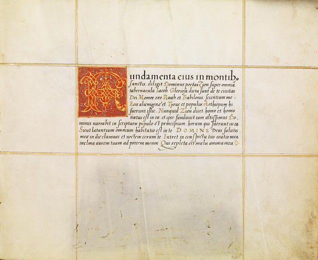 FJ Brechtel calligraphy 16th cent. g