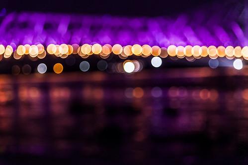 When the Howrah Bridge lights up