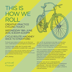 THIS IS HOW WE ROLL was a creative cycling tour that focused on the sustainability and resilience