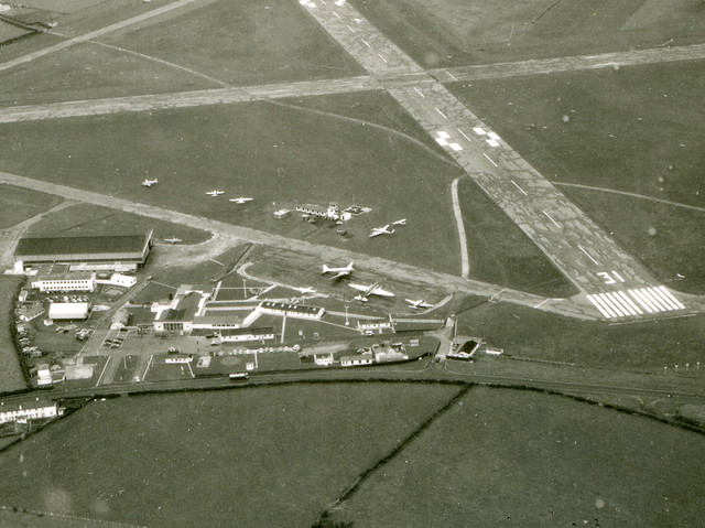Rhoose Airport early 60's