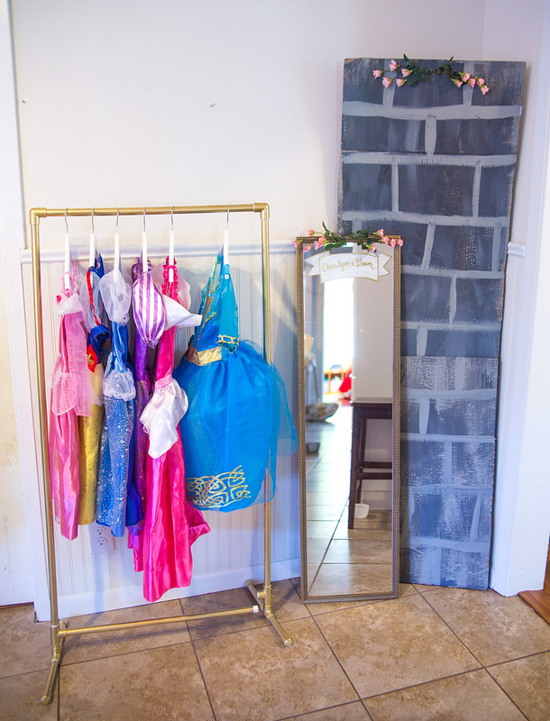 DIY Princess Dress Wardrobe