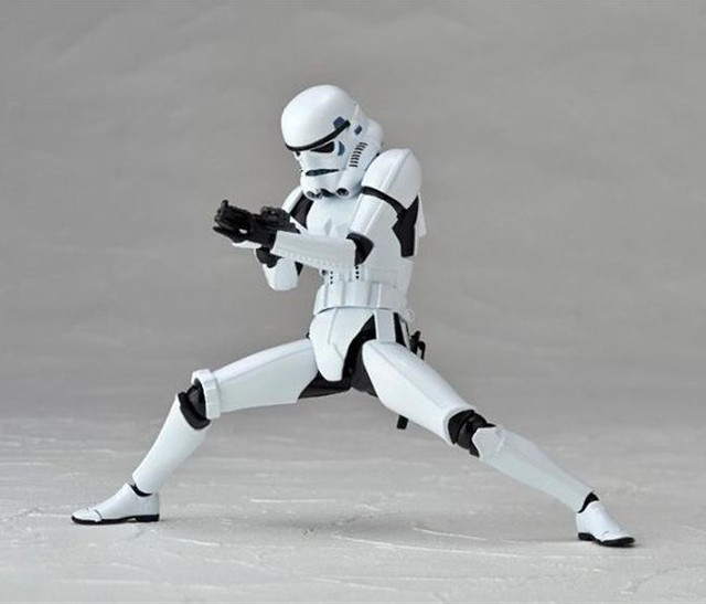 星際大戰輪轉可動系列《STAR WARS:REVO》No.002 白兵