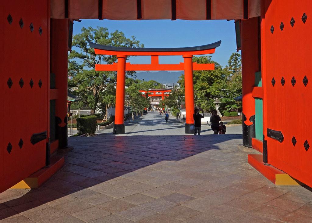 Fushimi Inari Taisha (伏見稲荷大社), Kyoto, Japan