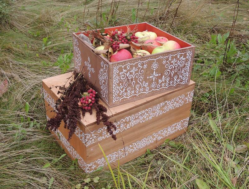деревянный ящик 1