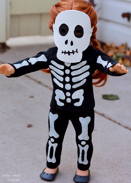 Ada's Skeleton Costume