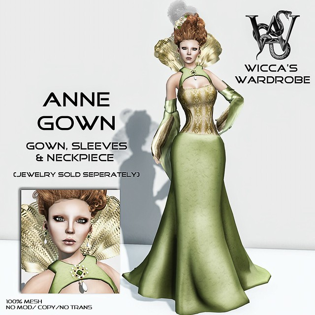 Wicca's Wardrobe - Anne Gown Vendor_Fantasy Collective October
