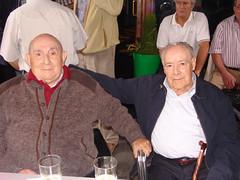 Alejandro Zubizarreta y Ricardo Txurruka padre