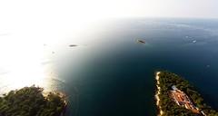 sea-surface-small-islands-porec-croatia-aerial