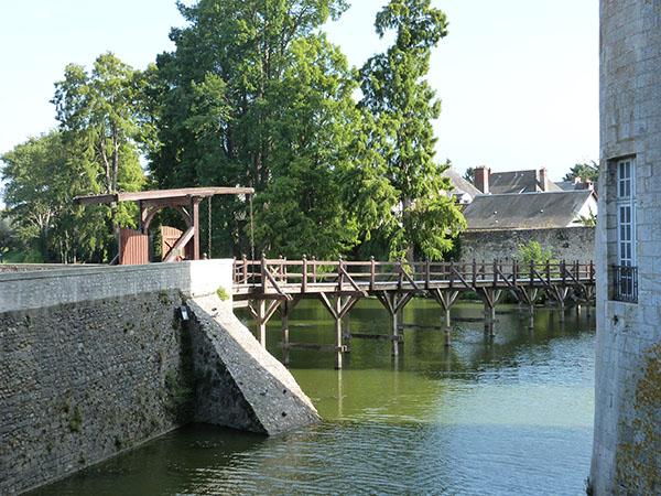 pont en bois de sully
