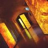 Beer Bubbles & Bricks #fabricamoritz #jeannouvel #barcelona #architecture #interior #Design #lights #beer
