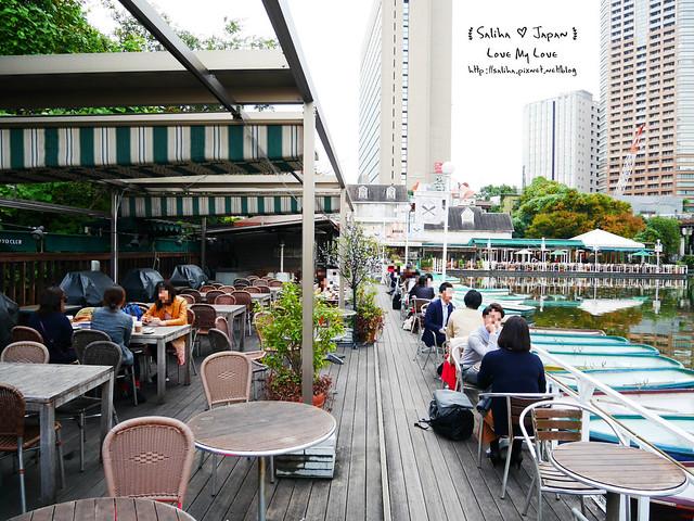 日本東京自由行賞櫻canal cafe水上餐廳 (16)