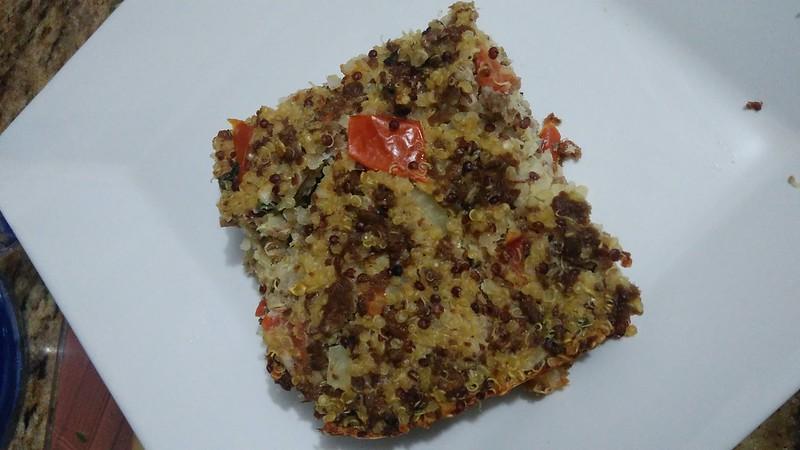 Quibe Assado de Quinoa - Sem Glúten e Sem Lactose